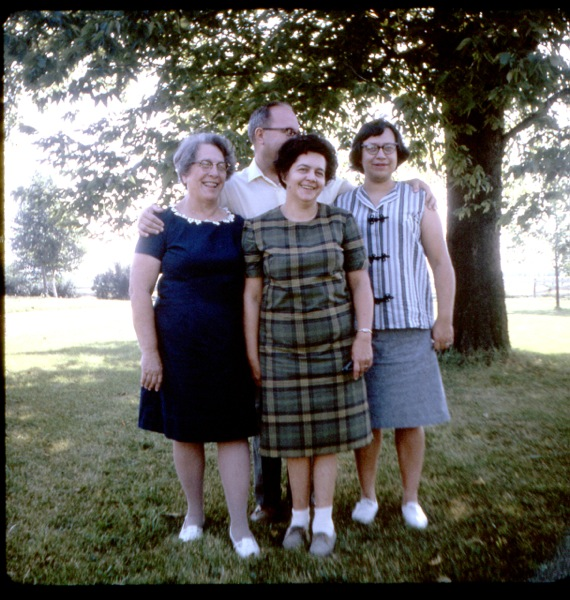 Dorward family 1966
