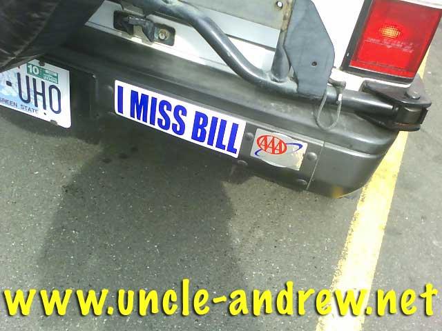 I Miss Bill
