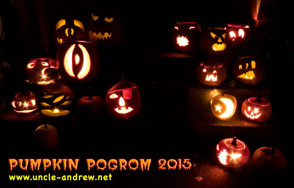 Pumpkin Pogrom 2015